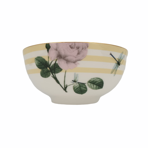 Portemirion Ted Baker Rosie Lee Rice Bowl Lemon 5""