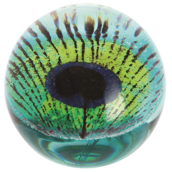 Caithness Glass Peacock Peacock Paperweight