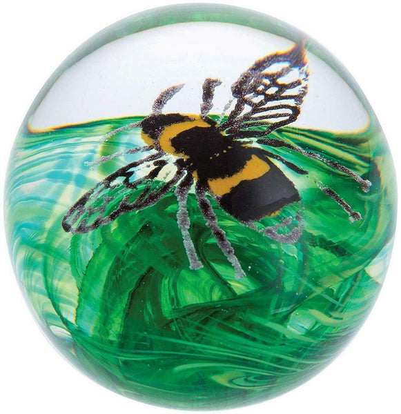Caithness Glass Busy Bees Buzzing Bee Paperweight