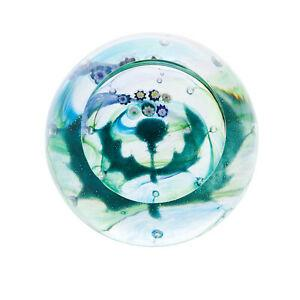 Caithness Glass Scottish Milli Thistle Paperweight