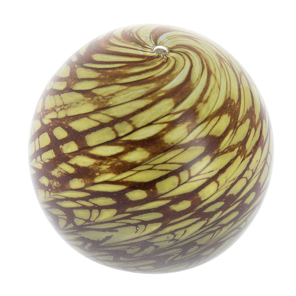 Caithness Glass Scottish Moss Round Paperweight