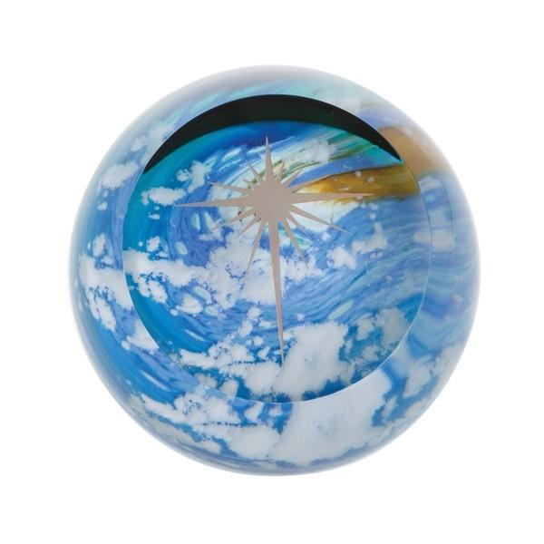 Caithness Glass Faith Heavenly Skies Star Paperweight