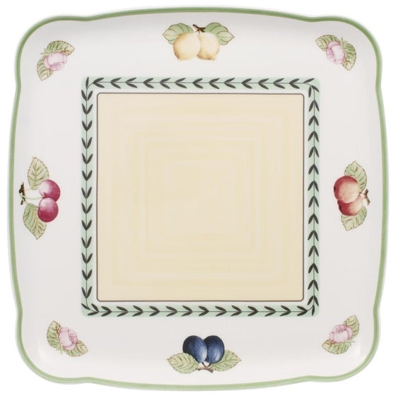 Charm and Breakfast French Garden Square Platter 30cm