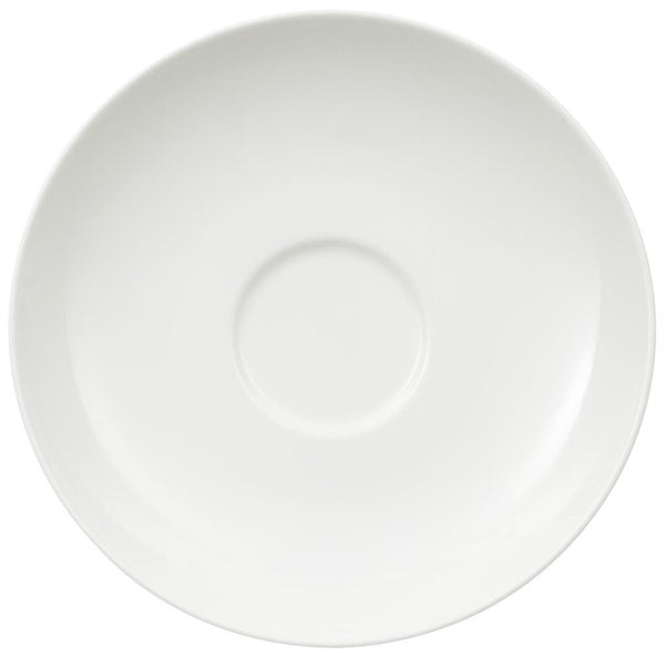 Villeroy and Boch Royal White Coffee Saucer 15cm (Saucer Only)