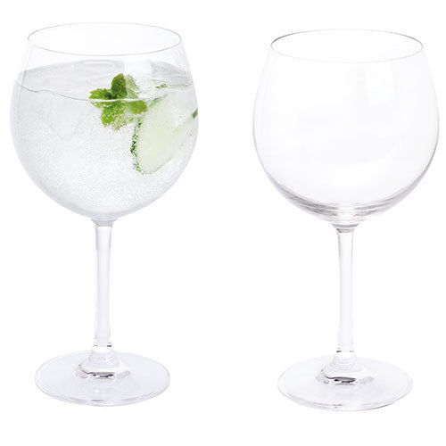 Dartington Crystal Wine and Bar Essentials Gina and Tonic Glass (Pair)