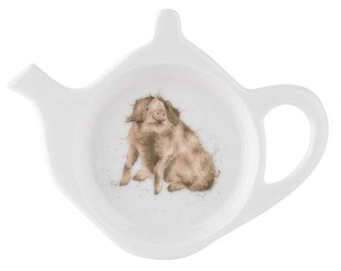 Royal Worcester Wrendale Designs Pig Love Teabag Tidy