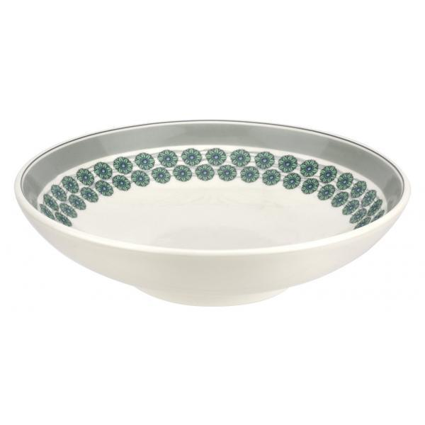 "Portmeirion Westerly Grey Low Bowl Pasta 8.5""/ 22cm"