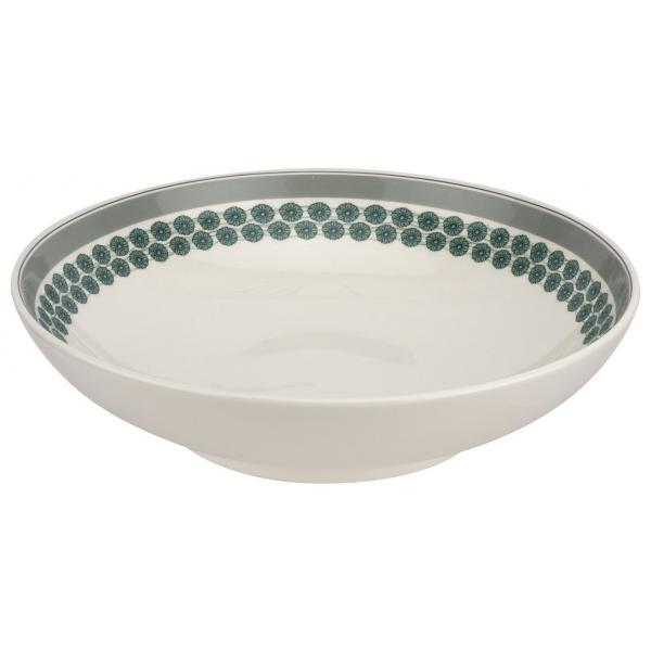 "Portmeirion Westerly Grey Low Bowl Serving 12.75"" 32.5cm"