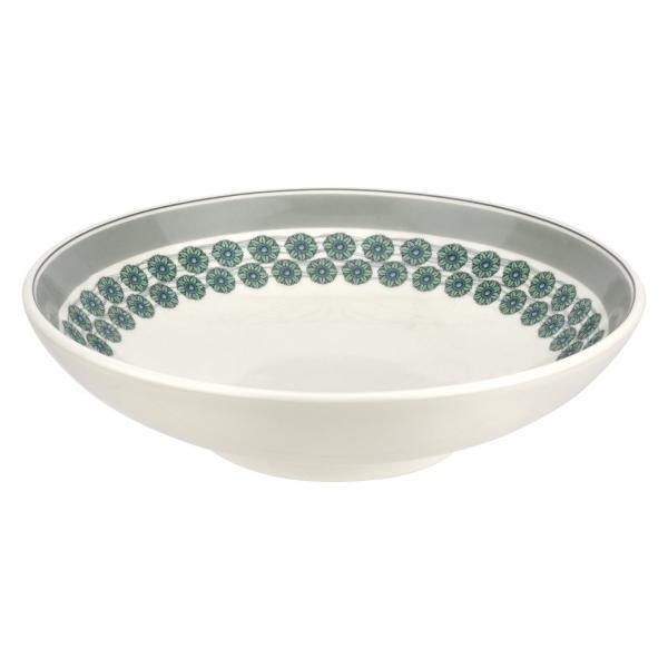 "Portmeirion Westerly Grey Low Bowl Serving 10""/ 25.5cm"