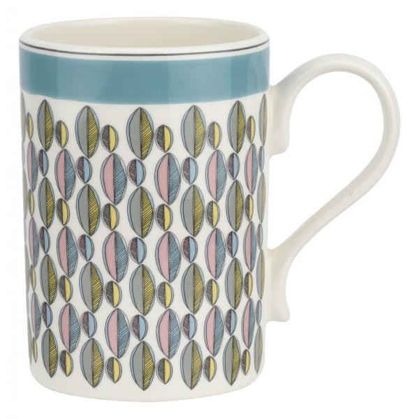 Portmeirion Westerly Turquoise Mug  0.34L