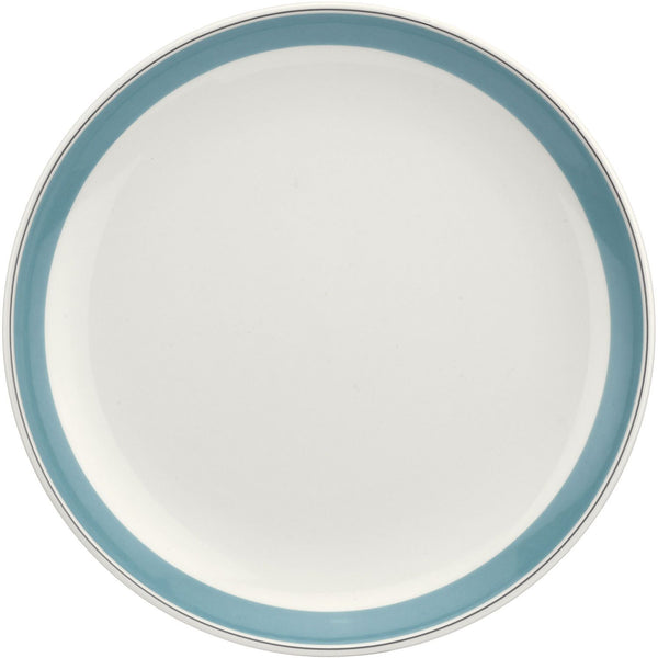 "Portmeirion Westerly Turquoise Coupe Plate 10.5""/ 27.5cm"