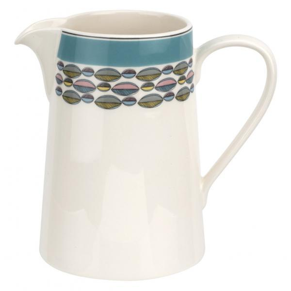 Portmeirion Westerly Turquoise 1.5Pt Jug / 0.85L