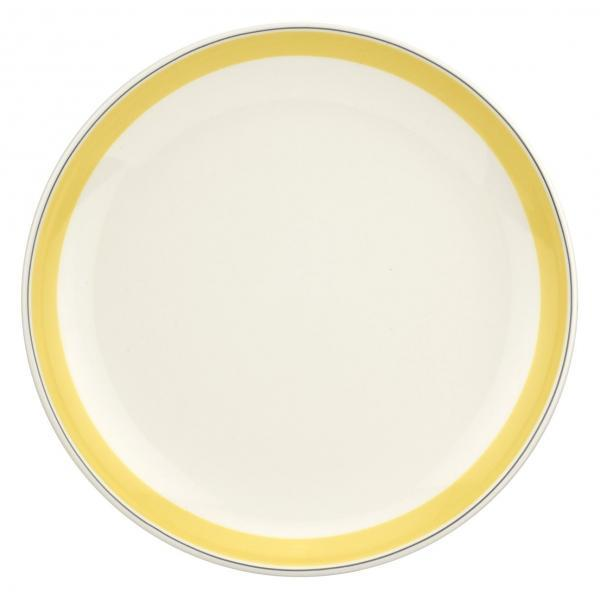"Portmeirion Westerly Yellow Coupe Plate 10.5""/ 27.5cm"