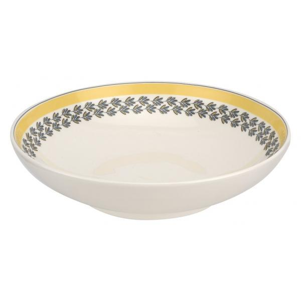 "Portmeirion Westerly Yellow Low Bowl Pasta 8.5""/ 22cm"