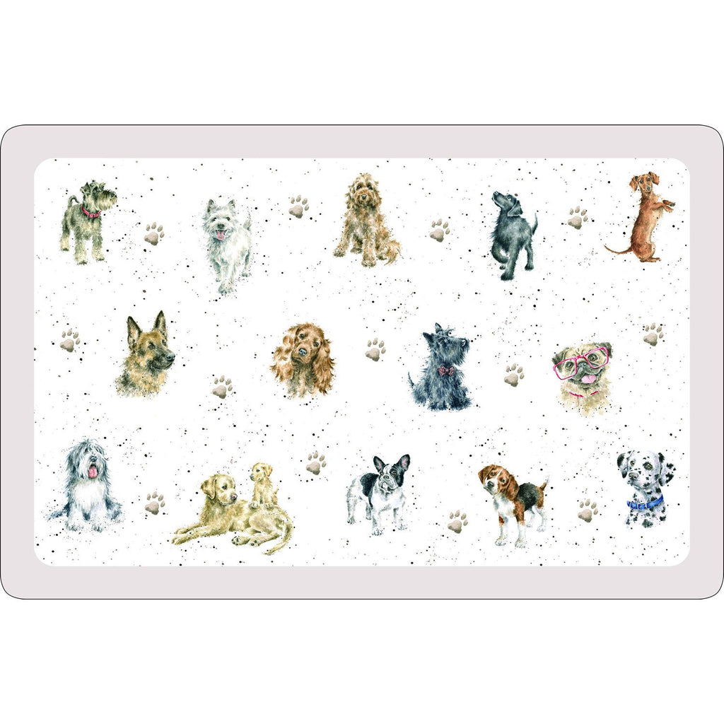 Royal Worcester Wrendale Dog Placemat 43.5 X 28.5cm