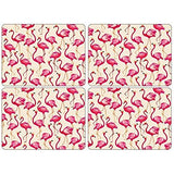 Portmeirion Sara Miller Flamingo Placemats 30.5 By 23cm (Set Of 4)