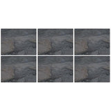 Pimpernel Midnight Slate Placemats 30.5cm By 23cm (Set Of 6)