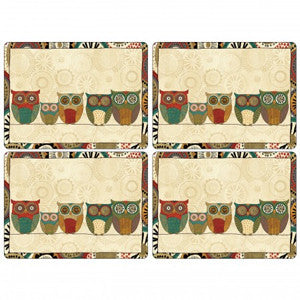 Pimpernel Spice Road Placemats 40.1cm By 29.8cm (Set Of 4)