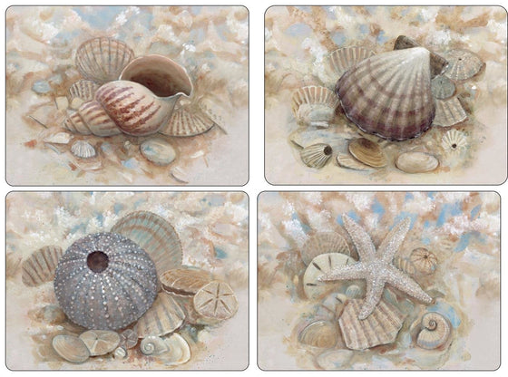 Pimpernel Beach Prize Placemats 40.1cm by 29.8cm (Set of 4)