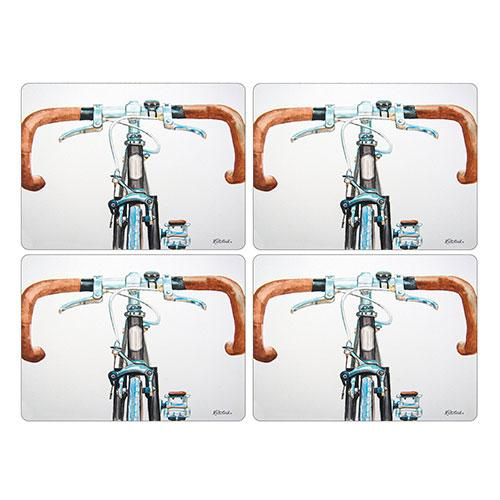 Pimpernel Bicycle Placemats 40.1 by 29cm (Set of 4)