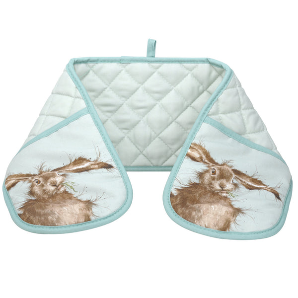 Royal Worcester Wrendale Designs Hare Double Oven Glove 18cm by 88cm
