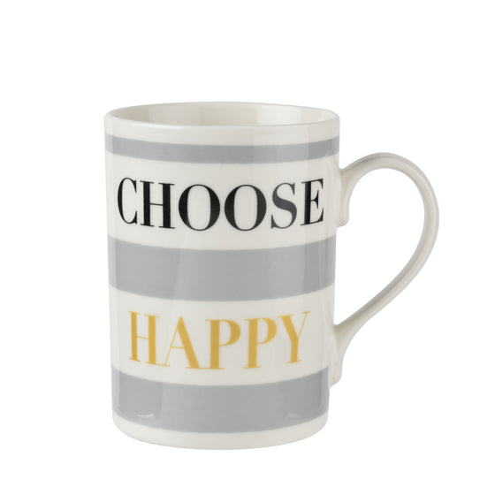 Pimpernel Choose Happy Mug 0.34L