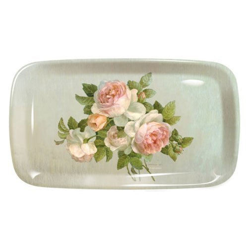 Pimpernel Antique Rose Sandwich Tray 38.5cm by 16.5cm