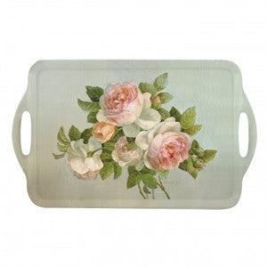 Pimpernel Antique Rose Tray 48cm By 29.5cm
