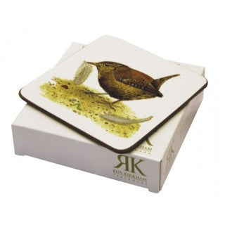 Roy Kirkham Garden Birds Coaster (Set of 6)