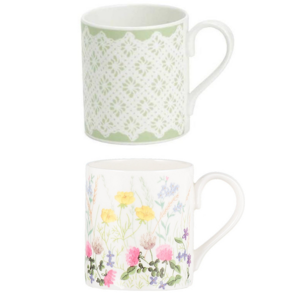 Roy Kirkham Meadow Flowers Mixed Larch Single Mug (Assorted Design)