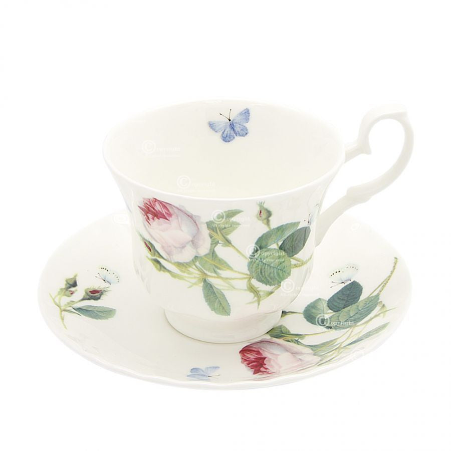 Roy Kirkham Palace Garden Tea Cup and Saucer