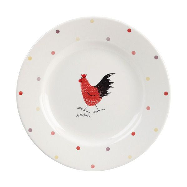 Alex Clark Rooster Salad Plate 20cm