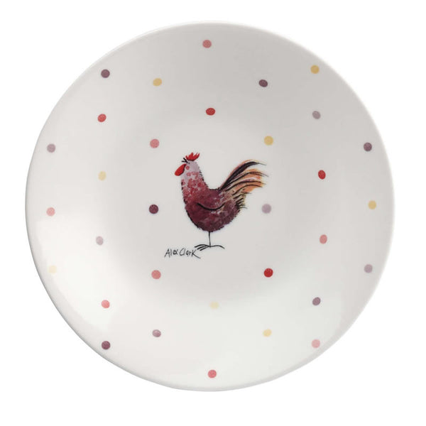 Alex Clark Rooster Coupe Cereal Bowl 20cm