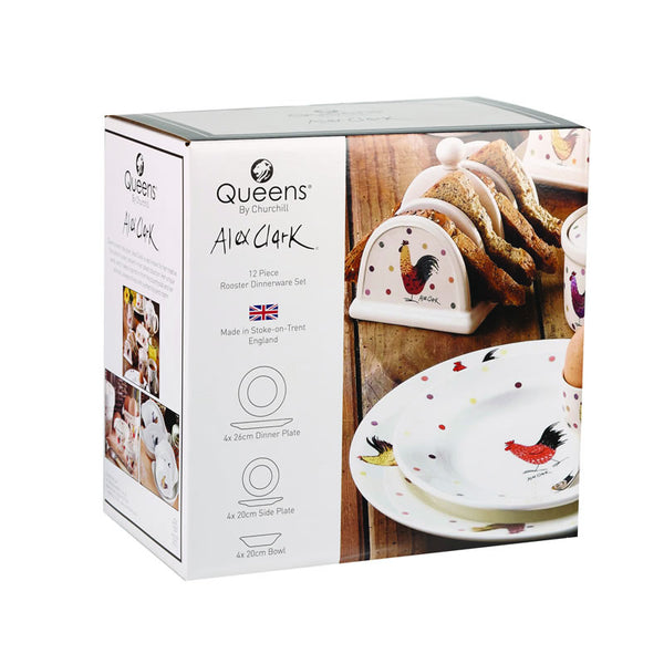 Alex Clark Rooster 12 Piece Box Set
