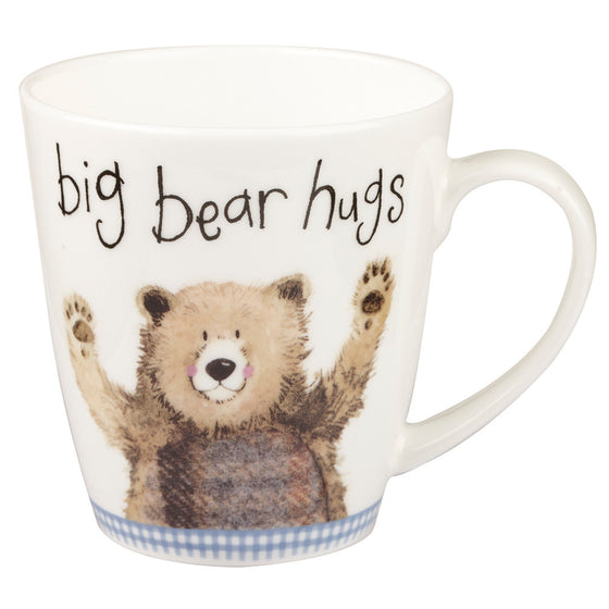 Alex Clark Sparkle Big Bear Hug Mug 0.36L