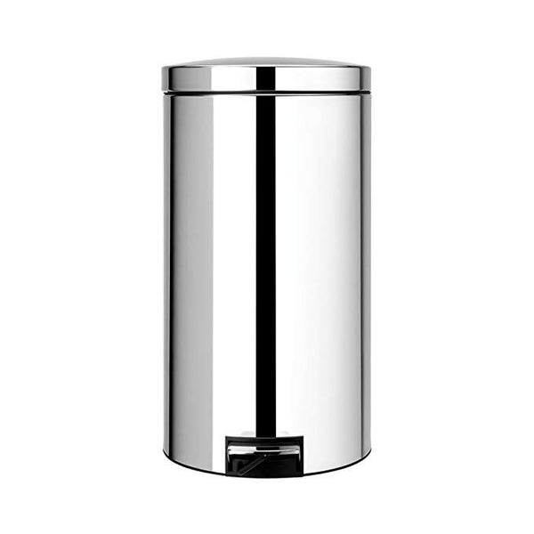 Brabantia 45 Litre Pedal Bins Brilliant Steel with Motion Contro