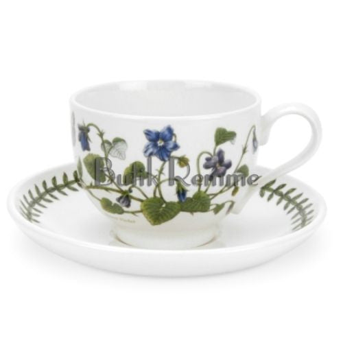 Portmeirion Botanic Garden Breakfast Cup and Saucer 0.28L