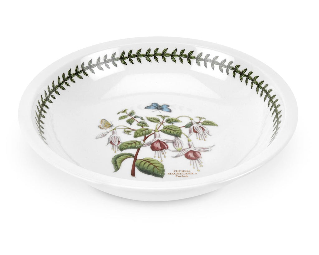 Portmeirion Botanic Garden Low Bowl 22.5cm (Assorted Designs)