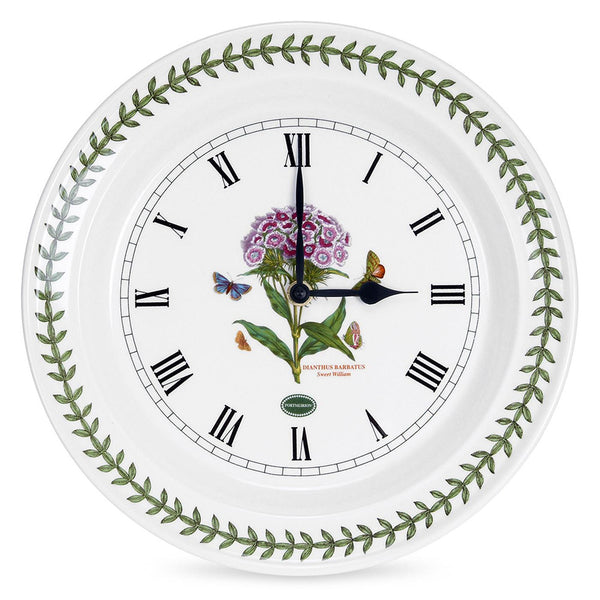 Portmeirion Botanic Garden Sweet William Wall Clock 25cm