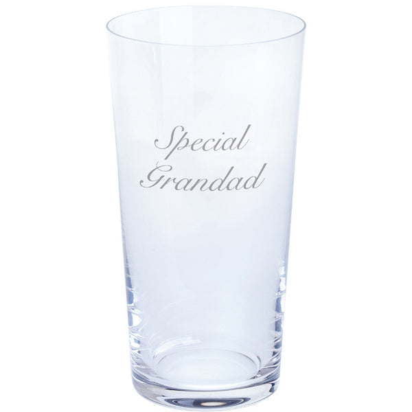 Dartington Crystal Just For You Special Grandad Pint Glass 0.55L (Single)