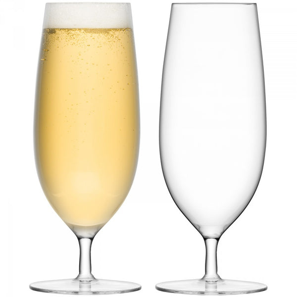 LSA Bar Pilsner Glass 450ml (Pair)