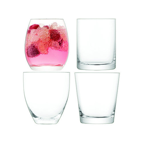 LSA Lulu Clear Tumbler (Set of 4)
