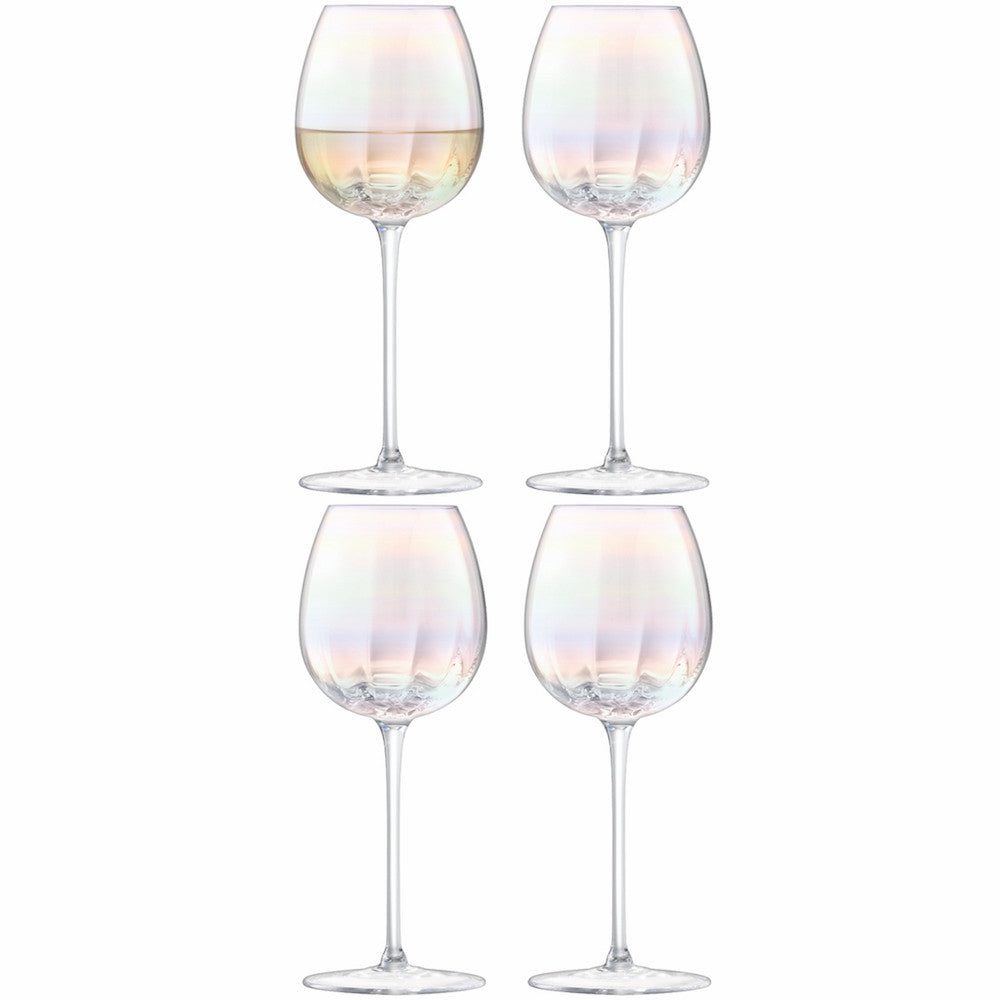 LSA Pearl White Wine Glass 0.33L (Set of 4)