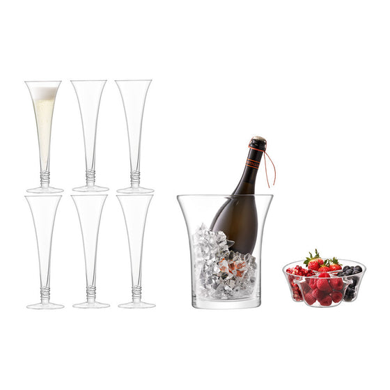 LSA Prosecco Grand Serving Set