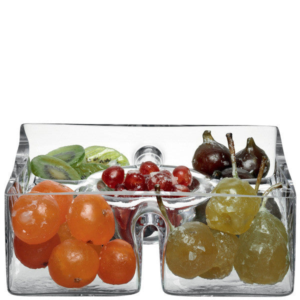LSA Serve Clear Platter 23cm