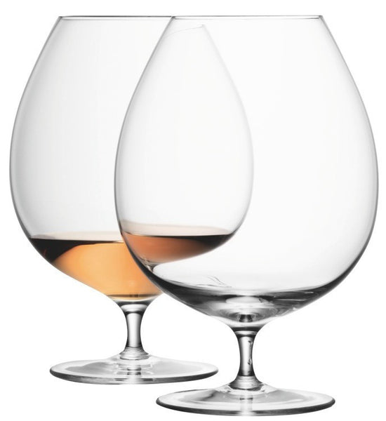 LSA Bar Clear Brandy Glass Pair 900ml