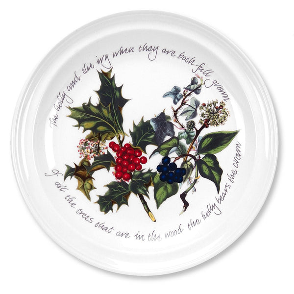 Portmeirion Holly And Ivy Dinner Plate 26cm