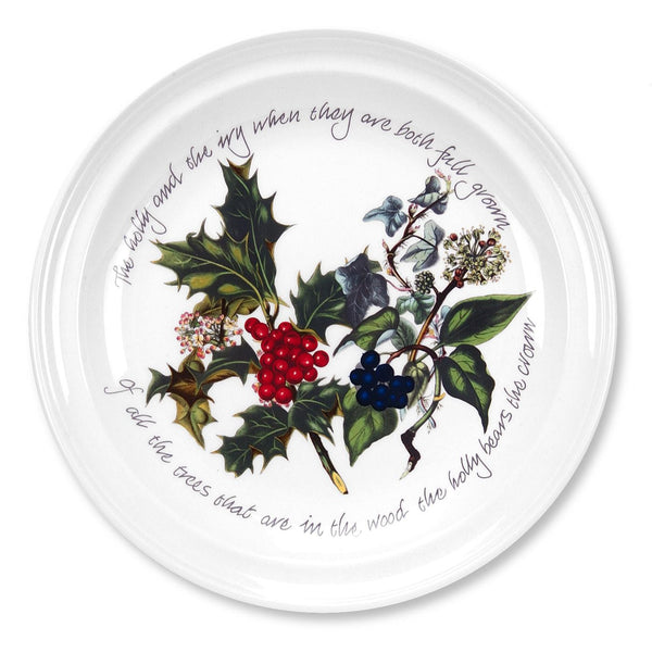 Portmeirion Holly And Ivy Salad Plate 20cm