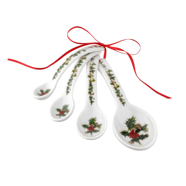 Portmeirion Holly And Ivy Measuring Spoons