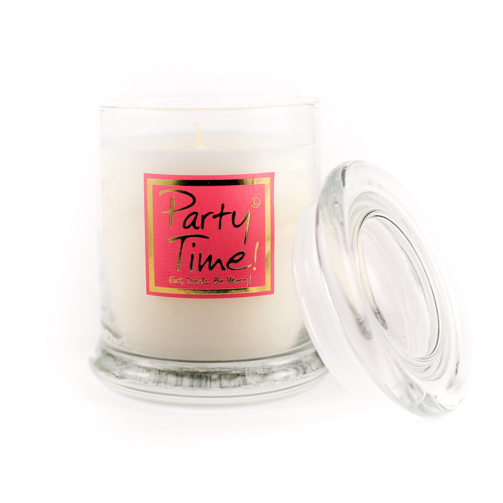 Lily Flame Party Time! Candle Jar